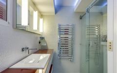 salle de bains appartement luxe