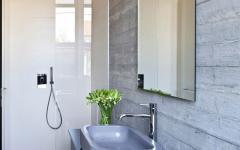 jolie salle d'eau design élégant