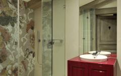 salle de bain douche italienne appartement de vacances