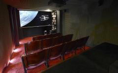 Salle de projection privé résidence de prestige