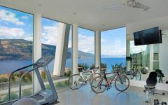 salle de fitness privée