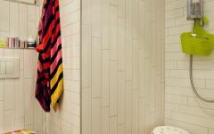 petite salle de douche fonctionnelle appartement