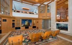 home cinéma propriété privée de luxe
