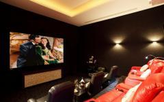 cinéma privée villa de luxe phuket
