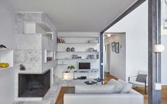 salon meubles sur mesure appartement