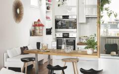 cuisine ouverte aménagée appartement moderne paris avec vue