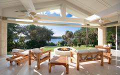 salon de jardin en bois massif luxe