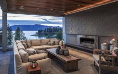 design intérieur moderne salon couvert