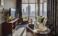 salon tv appartement de grand standing new york