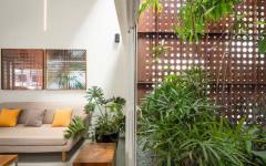 intérieur design original patio salon