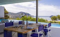 véranda outdoor maison de vacances luxe ibiza