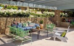 mobilier outdoor piscine belle demeure de vacances