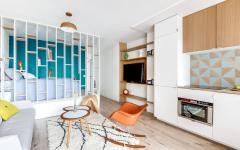 séjour salon petit studio citadin région parisienne