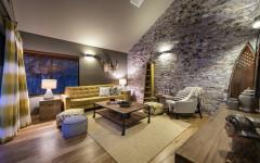 maison de vacances design intérieur rétro