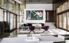 meuble design luxe maison de prestige avec vue