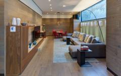 salon télévision mobilier design maison moderne
