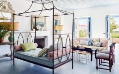 séjour maison méditerranéenne de luxe avec vue