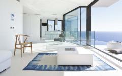 intérieur minimaliste luxe villa de vacances