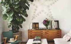 inspiration retro chic années 50 ameublement salon appartement de ville luxe