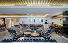 intérieur appartement de vacances luxueux