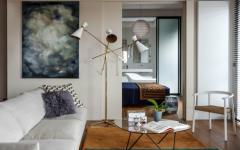 séjour appartement loft de luxe