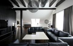 aménagement appartement de ville sous toit