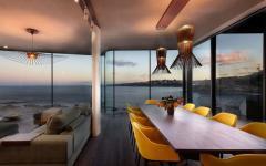ambiance romantique salle à manger belle maison de luxe