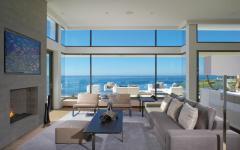 séjour lumineux maison sur la côte