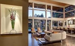 séjour belle maison familiale d'architecte