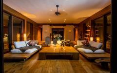 intérieur villa de vacances luxe exotique