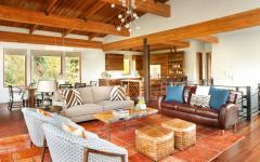 séjour maison rustique design luxe montagne