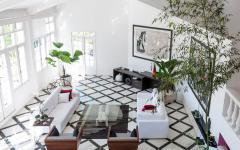 séjour salle à manger villa de luxe bourgeoise rio avec vue