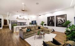 intérieur séjour pavillon résidentiel banlieue