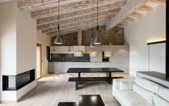 poutres bois mobilier design