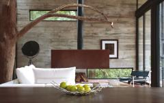 béton verre pierre maison d'architecte unique créative