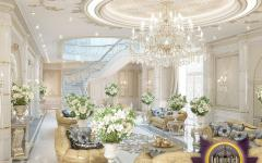 grand séjour salon mobilier oriental design luxe