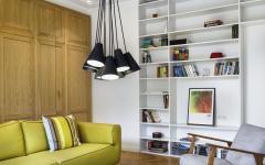 séjour appartement design rénové travaux