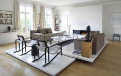 salon moderne hôtel particulier paris