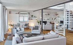 petit appartement duplex en ville design moderne