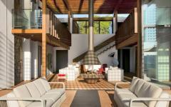 Ameublement moderne et luxueux séjour convivial