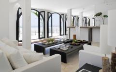 séjour moderne et élégant résidence secondaire