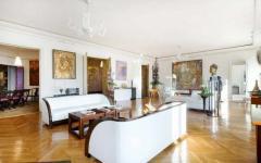 séjour appartement de luxe paris