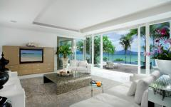 séjour luxe design moderne villa
