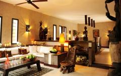 décoration intérieure africaine villa