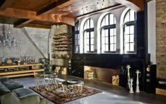 ancien loft industriel design