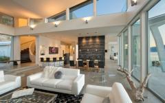 intérieur séjour maison de luxe