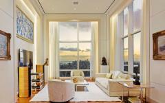 salon de tv résidence de haut standing luxe