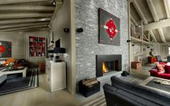 chalet de ski alpin luxe courchevel