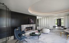 séjour moderne maison rénovée