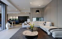 séjour moderne canapé luxe